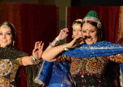 Khalbelia dance at Infuzion. Photo Karen Kennedy
